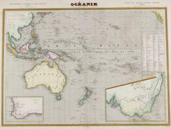 Oceania, Australia  by  Monin