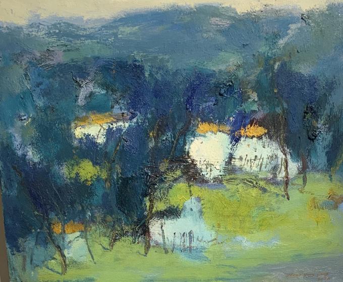 'Farmhouses' by Zheng Yong Gang