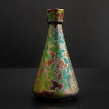 Art nouveau vase  by Clement Massier