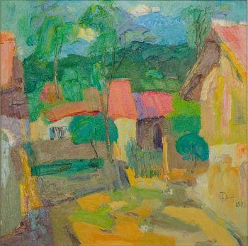 Farmhouse by Tian Yi