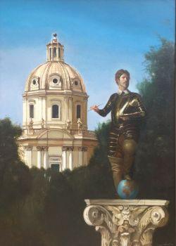 Autoritratto by Giovanni Tommasi Ferroni